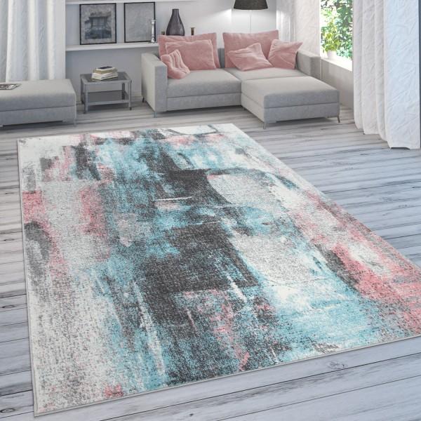 Vloerkleed Kleurverloop Pastelkleuren Abstract