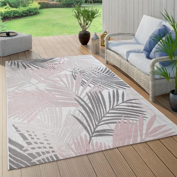 vloerkleed voor binnen en buiten palmen-patroon balkon