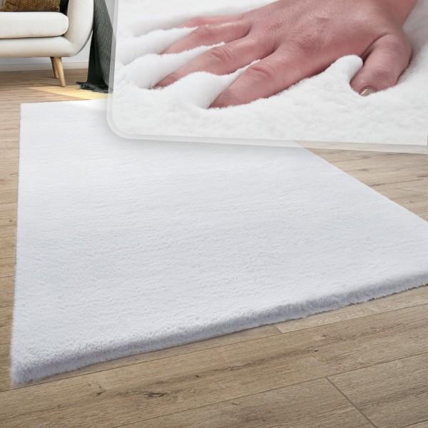 Hoogpolig vloerkleed zachte shaggy wasbaar